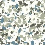 Blue Metal - White Base